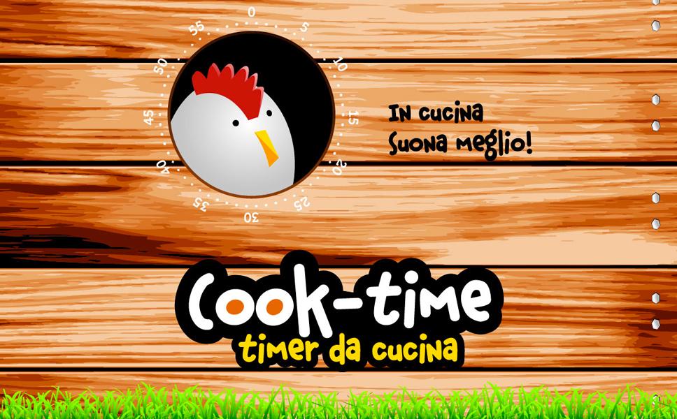 Grafica per timer da cucina BwithC