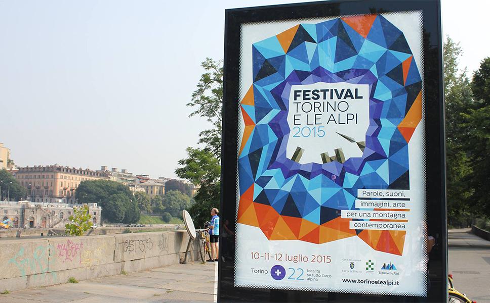 manifesti per il festival Torino e le Alpi di BwithC