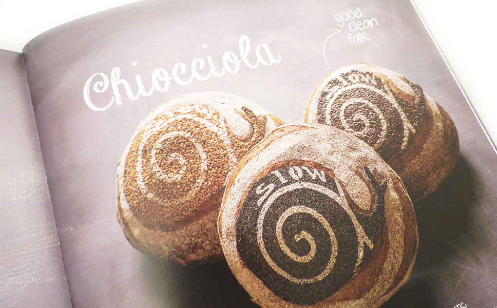 Impaginazione per il master de la boulangerie di BwithC