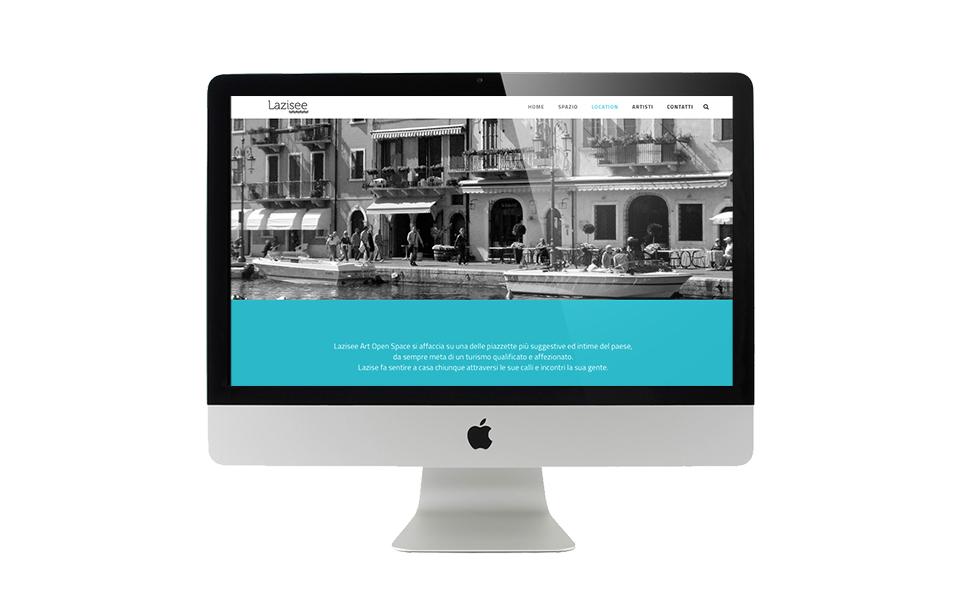 Web design galleria d'arte BwithC