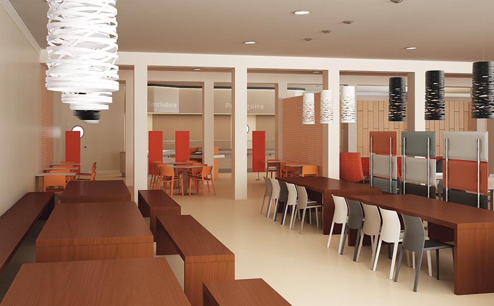 Interior design per L'Oreal a Torino. BwithC.